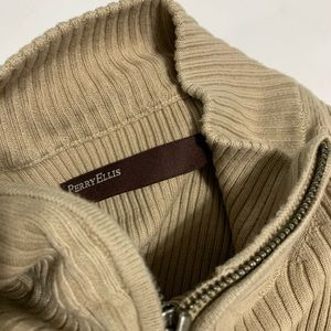 ‼️PERRY ELLIS Ribbed Sweater Med‼️